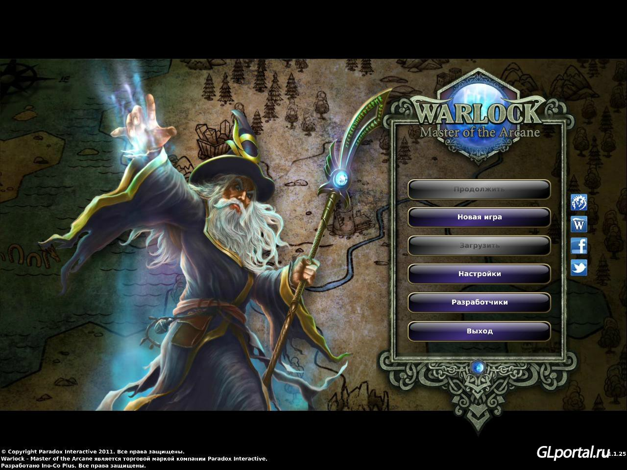 Warlock.Master Of The Arcane [v 1.3.0.46 + 4 DLC] (2012) PC | RePack